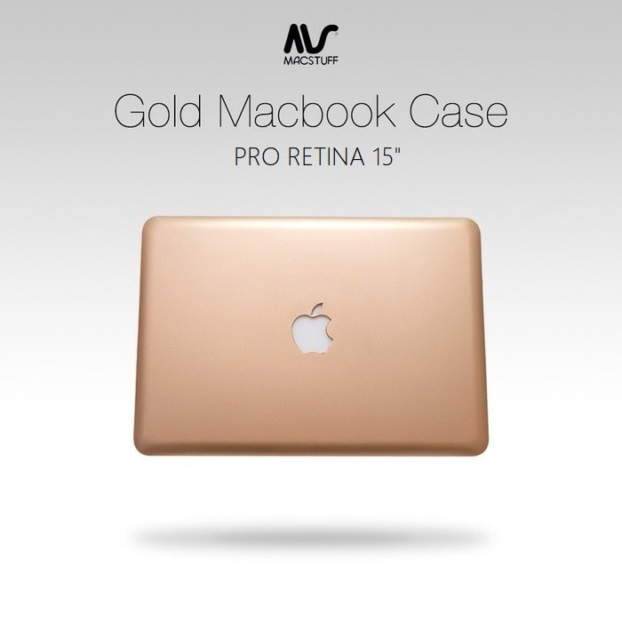 Jual Case Macbook Pro Retina 15 Inch Gold Harga Promo Terbaru