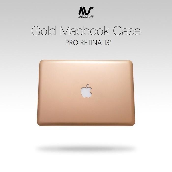 Jual Aksesoris Gold Case For Macbook Pro Retina 13 Inch Harga Promo Terbaru