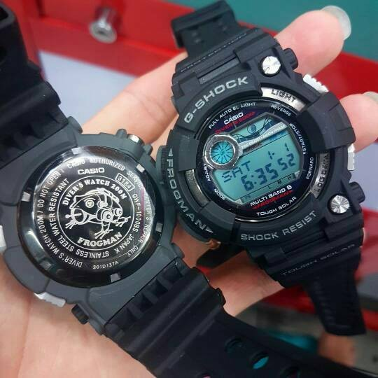Jual Jam Tangan Pria Merk Casio G-Shock Frogman Type GWF 1000 - MoMo ... 2380b63ebf