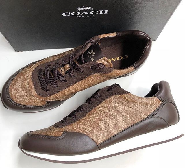 Jual Sepatu Coach Asli Original Rebecca Sneaker Size 8 5 Kota