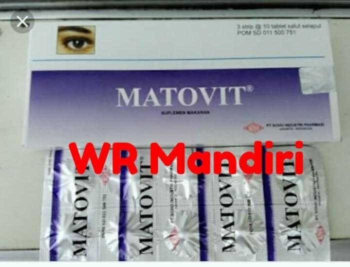 harga Matovit tablet teregistrasi bpom / mempertajam penglihatan Tokopedia.com