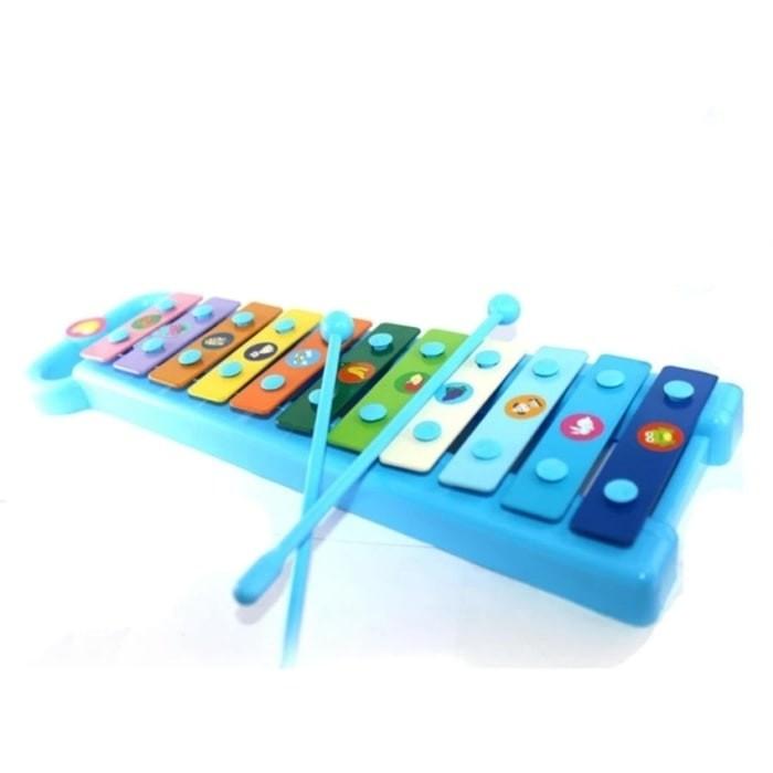 Mainan Anak Alat Musik Xylophone balita bayi edukasi sensorik motorik