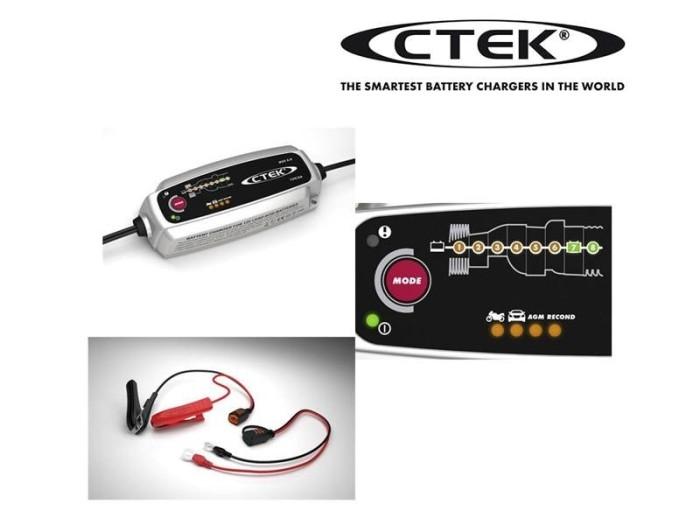 Foto Produk CTEK MXS 5.0 EU Aki Battery Charger dari Sound Kingdom