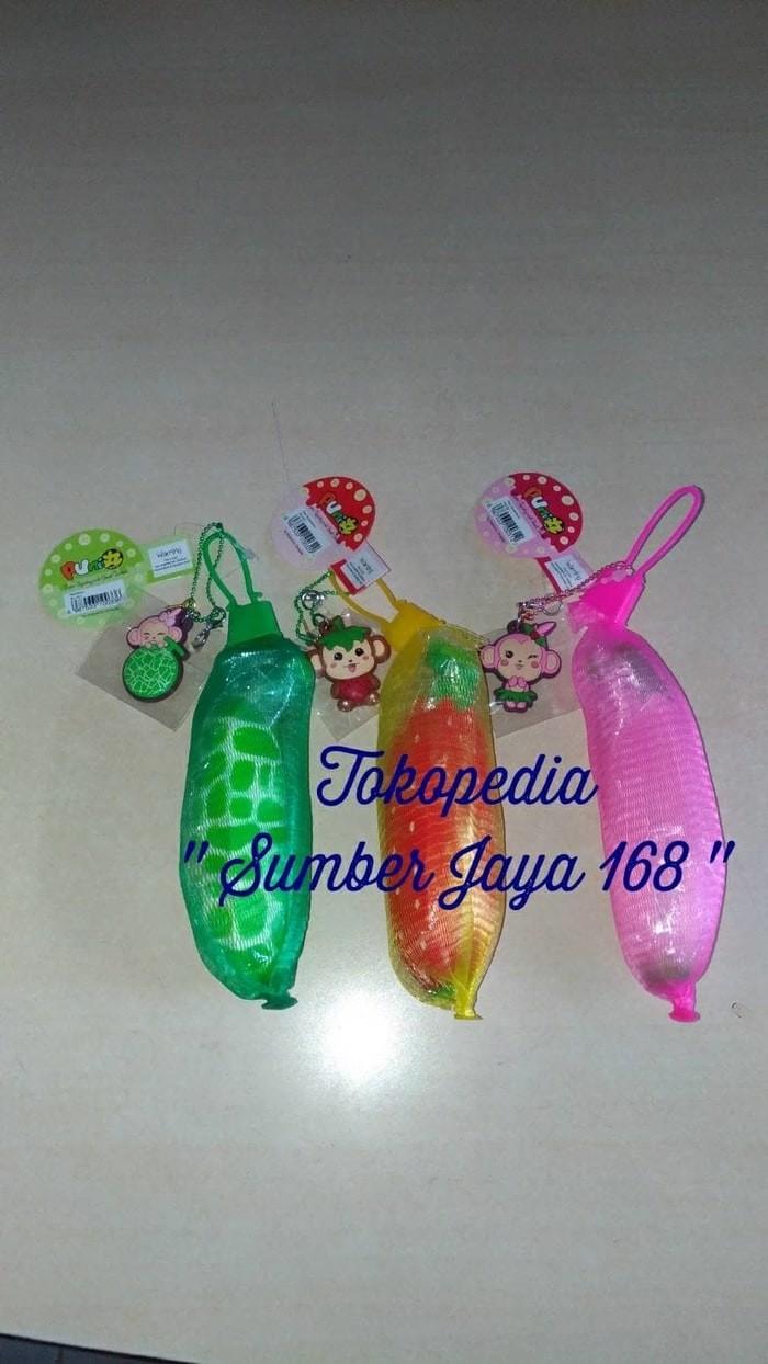 "Jual Squishy Banana Mini Cheeki "" PUNIMARU "" Jakarta Barat Aarth Shop"
