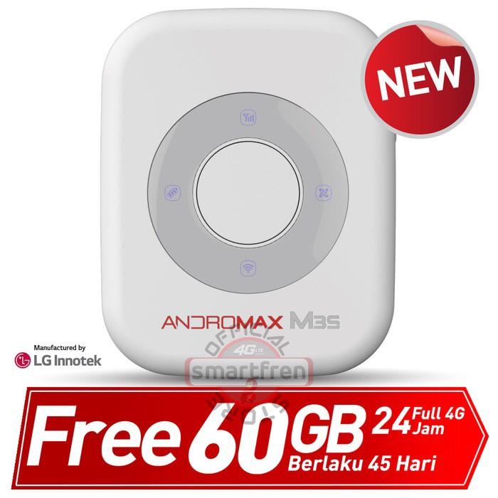 Foto Produk Andromax Mifi M3S Free 60GB untuk 45 Hari dari Takstore