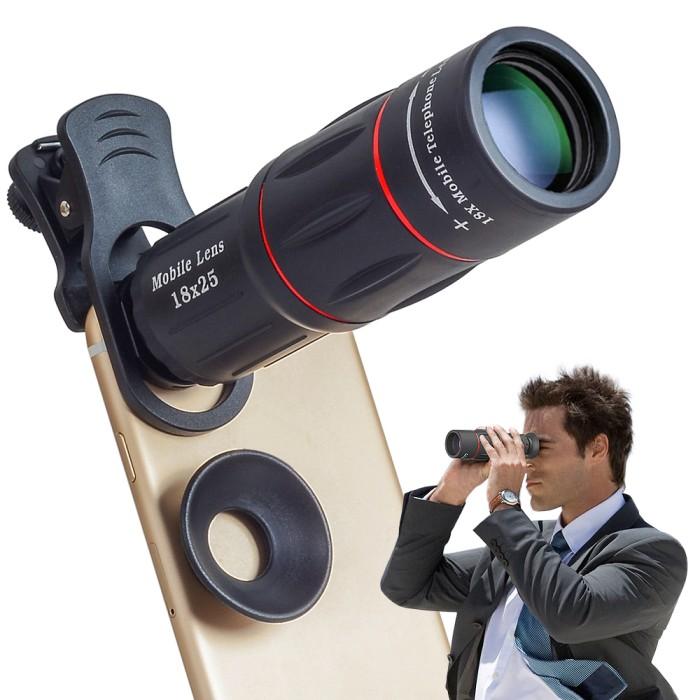 harga Apexel 18x telescope zoom mobile phone iphone lens with tripod 18xtzj Tokopedia.com