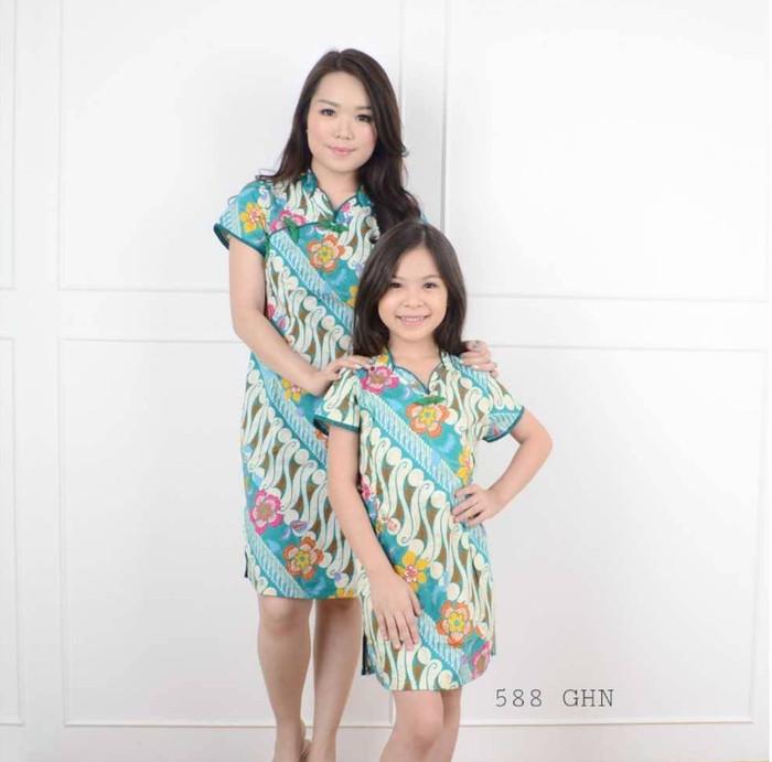 harga Dress atasan blouse baju batik wanita anak murah / 588 ghn kids Tokopedia.com
