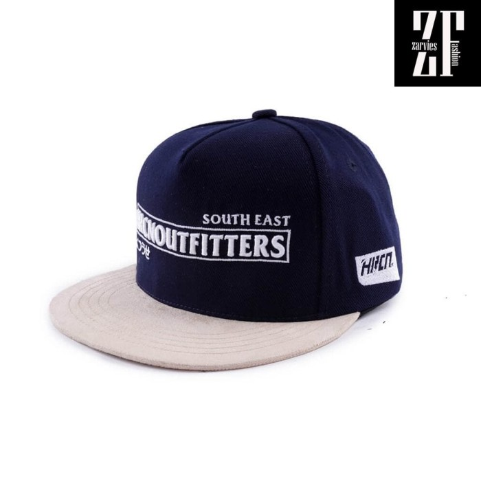 e829c0de673 Snapback flexfit yupoong premium topi hip hop biru original al94