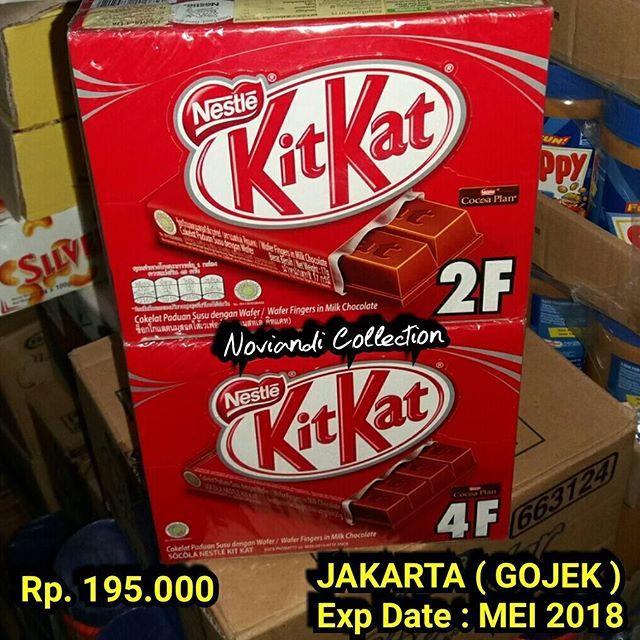 harga Kikat 2f / kitkat 4f / kitkat cokelat / kitkat halal / kitkat greentea Tokopedia.com