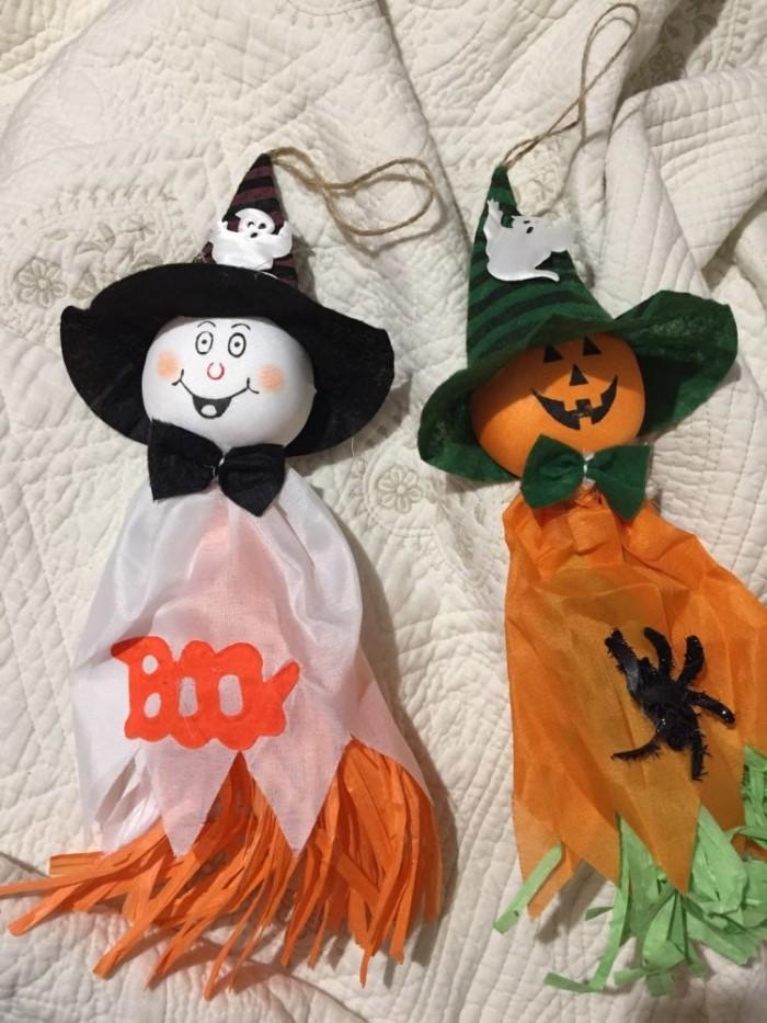 Jual Dekorasi Halloween Hiasan Gantung Boneka Kain Lucu Ghost Me