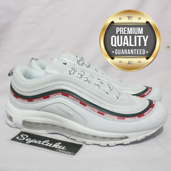 harga Sepatu nike airmax 97 og x undefeated white - premium quality Tokopedia.com