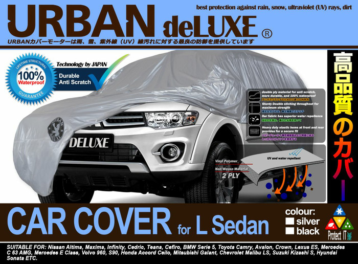 Cover sarung body mobil URBAN DELUXE waterproof BMW Seri 5 Camry Crown