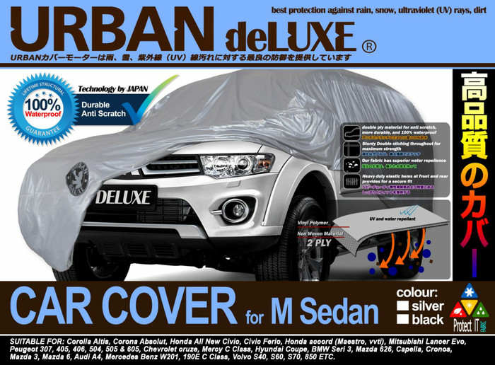 harga Cover sarung body mobil urban deluxe waterproof corolla altis evo 10 Tokopedia.com