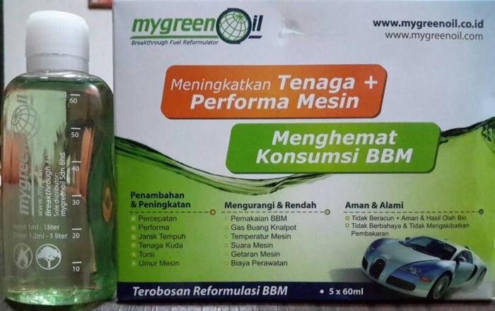 harga My green oil  meningkatkan tenaga dan peforma mesin low konsumsi gasol Tokopedia.com