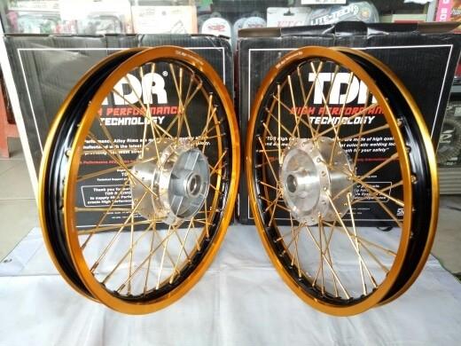 harga Sepaket velg tdr tromol vnd + trusty new vixion dan old vixion Tokopedia.com