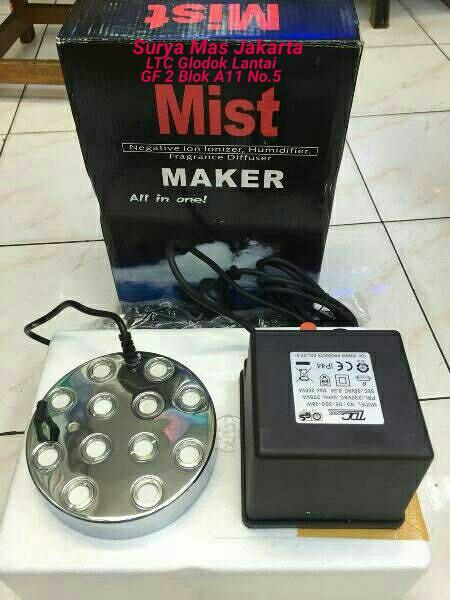 harga Mist maker 12 mata ultrasonik / ultrasonic bulat Tokopedia.com