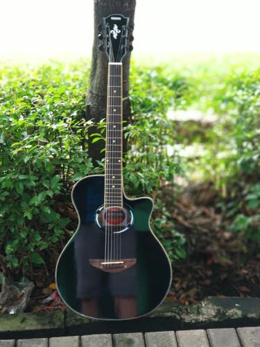 Foto Produk gitar akustik apx500ii hitam free tas yamaha - Hitam dari JakartaUndercover.id