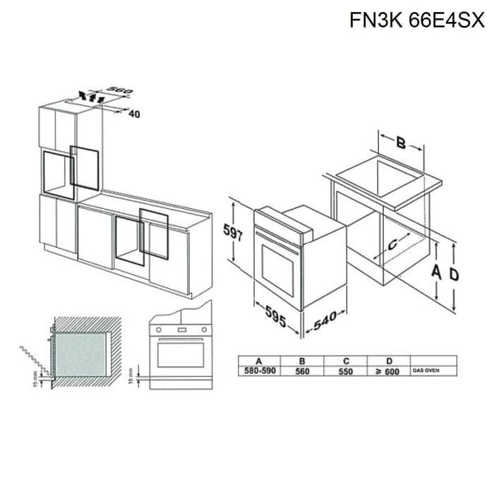 Jual oven listrik tanam tecnogas fn3k66e4sx built in electric oven listrik tanam tecnogas fn3k66e4sx built in electric oven ccuart Gallery