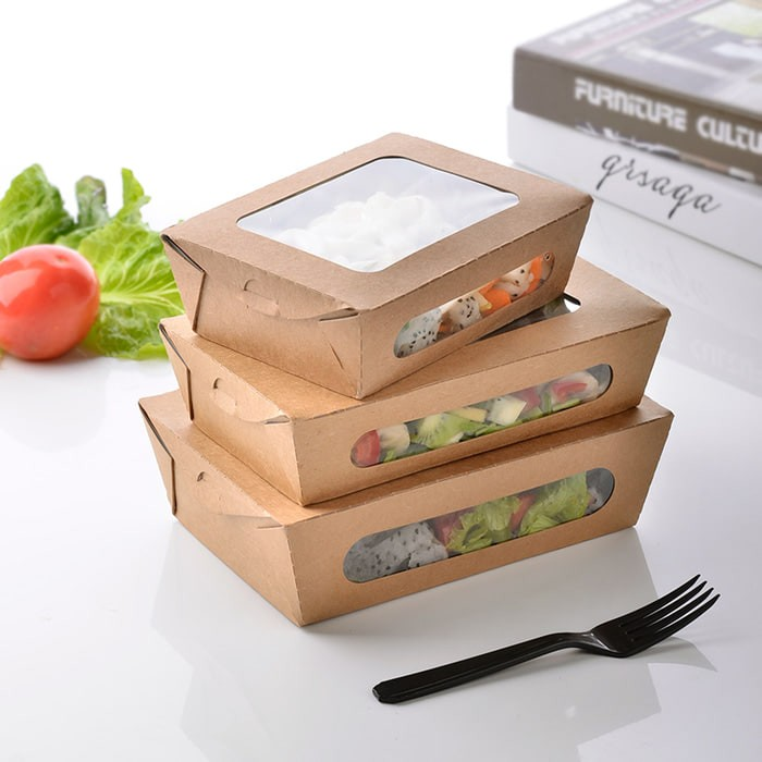Packaging Makanan: Jual KEMASAN MAKANAN TAKEOUT FOOD GRADE LUNCH BOX KEREN