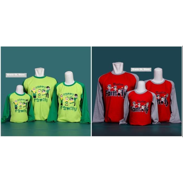 harga Baju kaos couple seragam samaan keluarga bapak ibu dan anak muslim Tokopedia.com