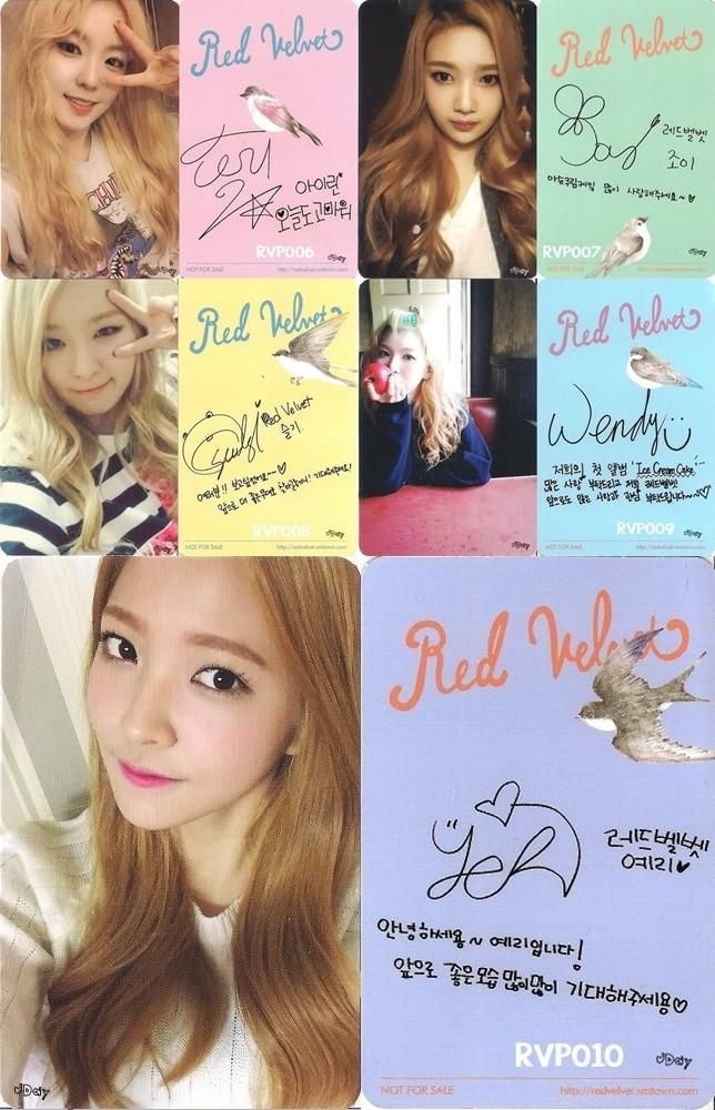 Tracklist Red Velvet Ice Cream Cake