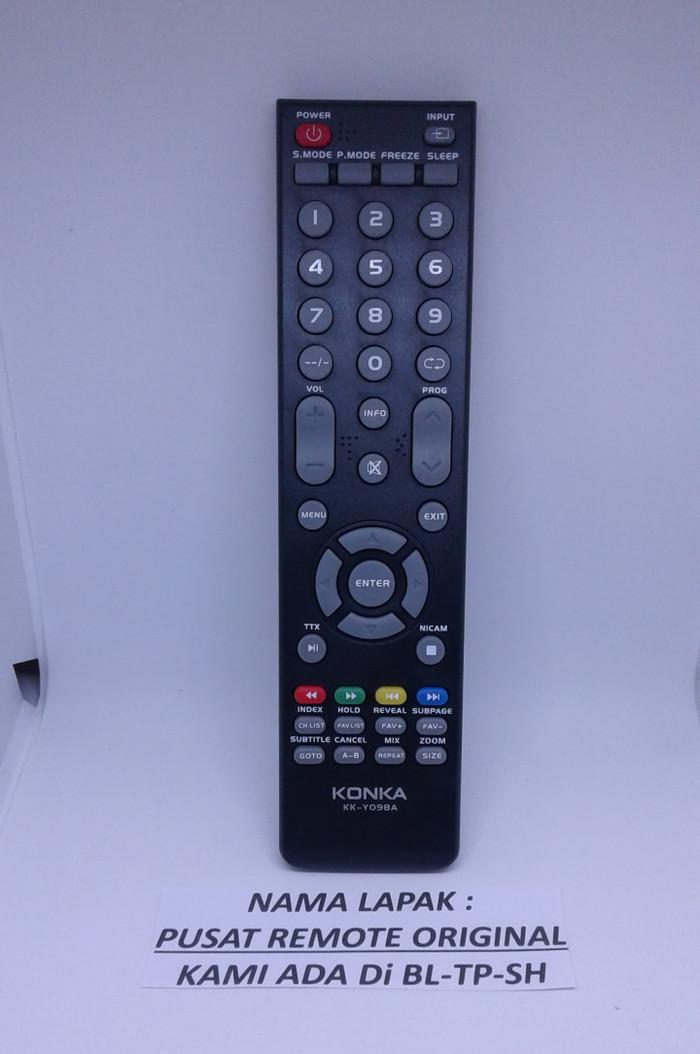 harga Remote remot tv konka led/lcd kk-y098a original asli Tokopedia.com