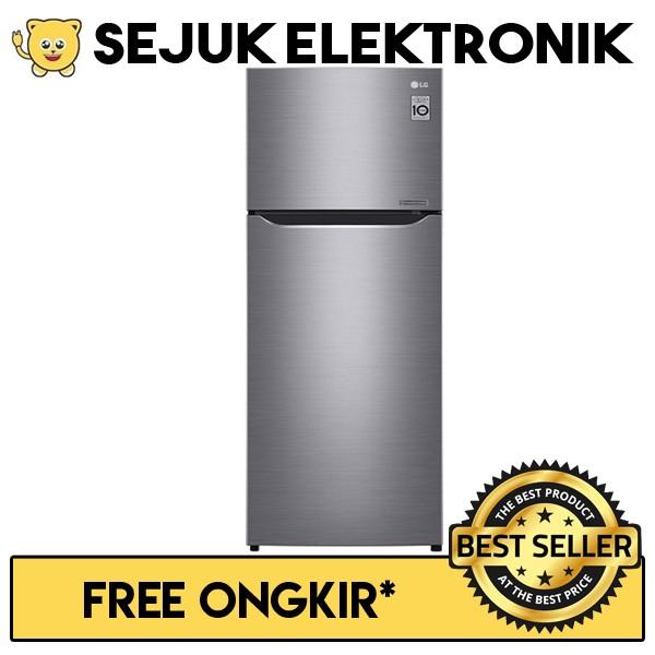 harga Lg gn-c272slcn lemari es / kulkas 2 pintu door cooling - 272 liter Tokopedia.com