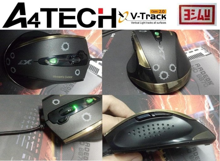 harga A4-tech x7 f3 v-track macro / gaming / mouse Tokopedia.com