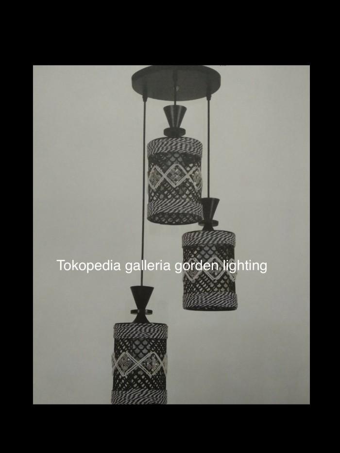 harga Lampu hias gantung dekorasi ruang meja makan 7326/3 Tokopedia.com