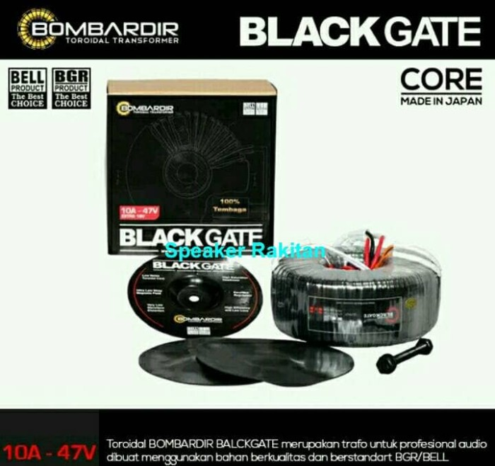harga Trafo travo toroid bombardir black gate 10ampere ct 47volt Tokopedia.com