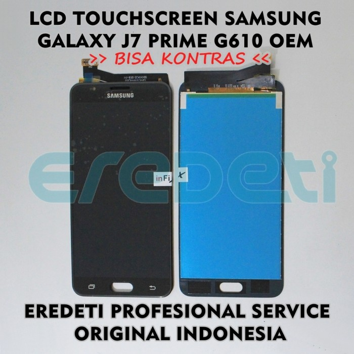 ... LCD TOUCHSCREEN SAMSUNG J7 PRIME G610 BISA KONTRAS OEM KD 002239