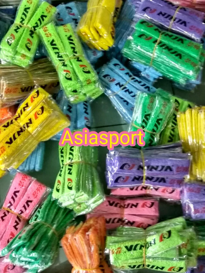 harga Towel grip racket 12 bh raket bulutangkis badminton Tokopedia.com