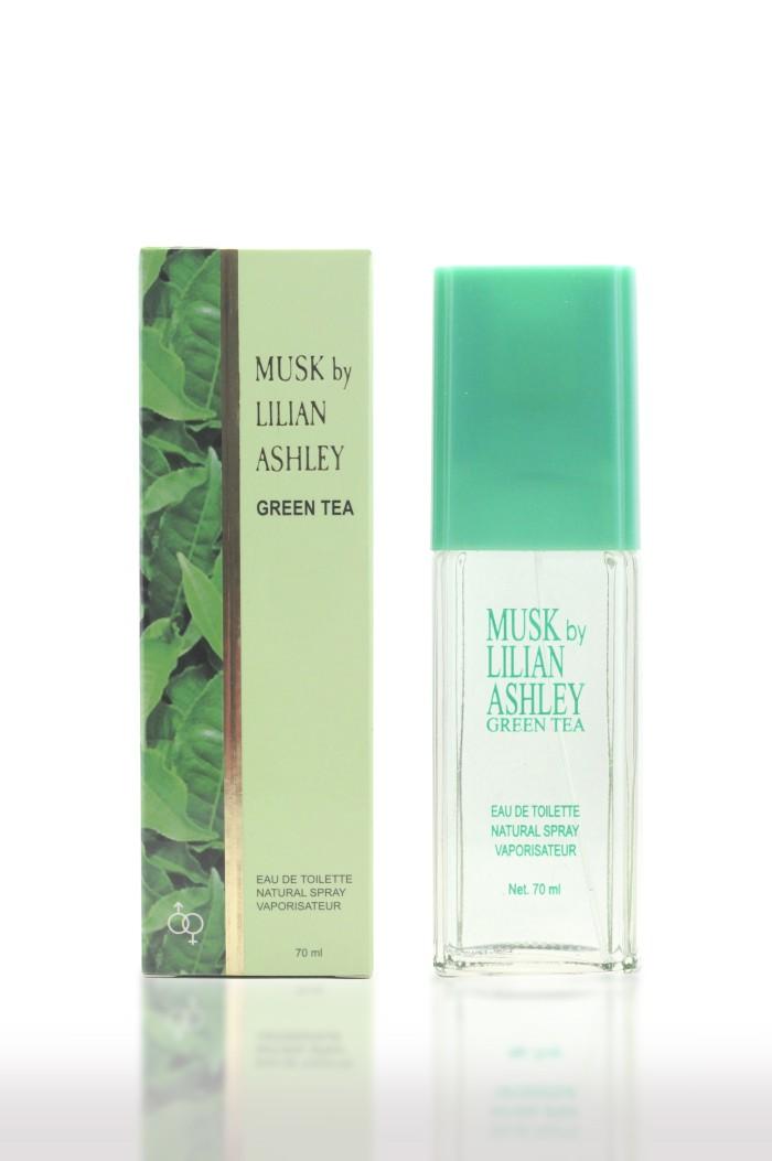 Jual Musk By Lilian Ashley Classic Green Tea Eau De Toilette 70ml Harga Promo Terbaru