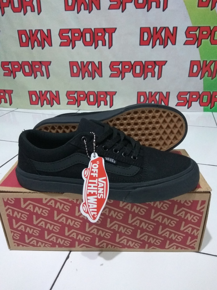 09e7fafa11c9 Jual Sepatu Vans - Vans Old Skool Full Black - Dknsport