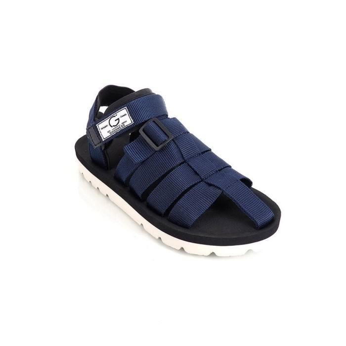 Foto Produk SANDAL SENDAL ORIGINAL GOODNESS GDNS URBAN PRIA [NAVY] dari House Shoes