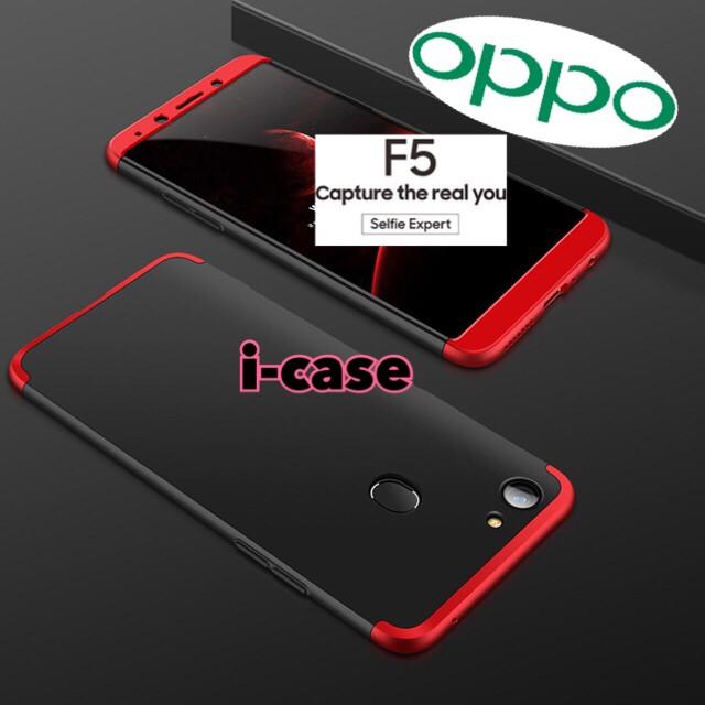 Foto Produk Oppo F5 case 360 super protect - oppo f5 pro case cover dari i-case