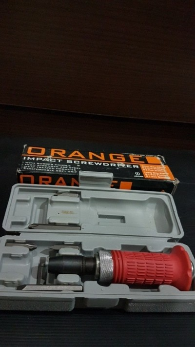 OBENG KETOK SET 6 PCS ORANGE TIPE 2800 / HAND IMPACT DRIVER