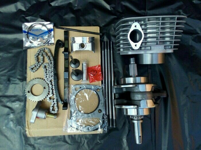 harga Paket bore up tiger / kruk as crf 230 / blok tiger / noken as tiger Tokopedia.com