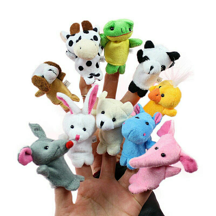 Jual Boneka Jari Tangan hewan   finger puppet animal isi 10 pcs ... 95b6c68fe6