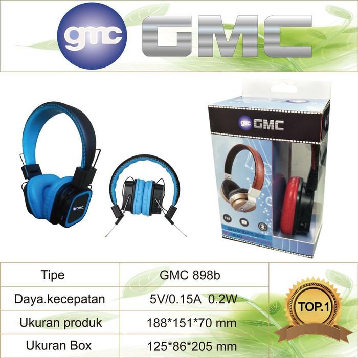 harga Headphone bluetooth gmc 898b Tokopedia.com