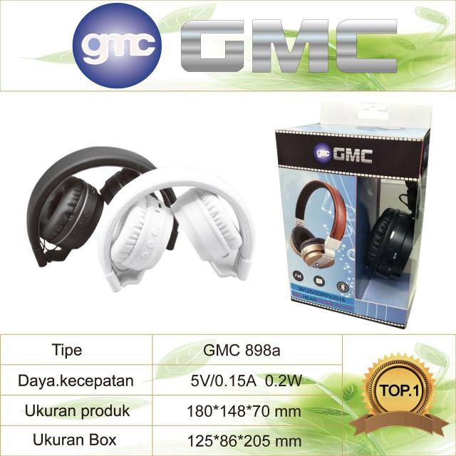 harga Headphone bluetooth gmc 898a Tokopedia.com