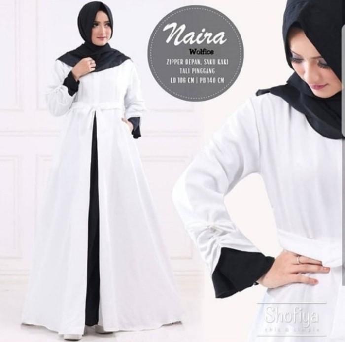 Jual Gamis Wolfis Dress Code Modis Ala Wanita Model Terbaru Syari Kota Bandung Ss Best Online Tokopedia