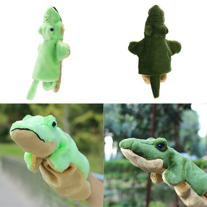 harga Boneka tangan karakter buaya plush hand puppet mainan edukasi anak Tokopedia.com