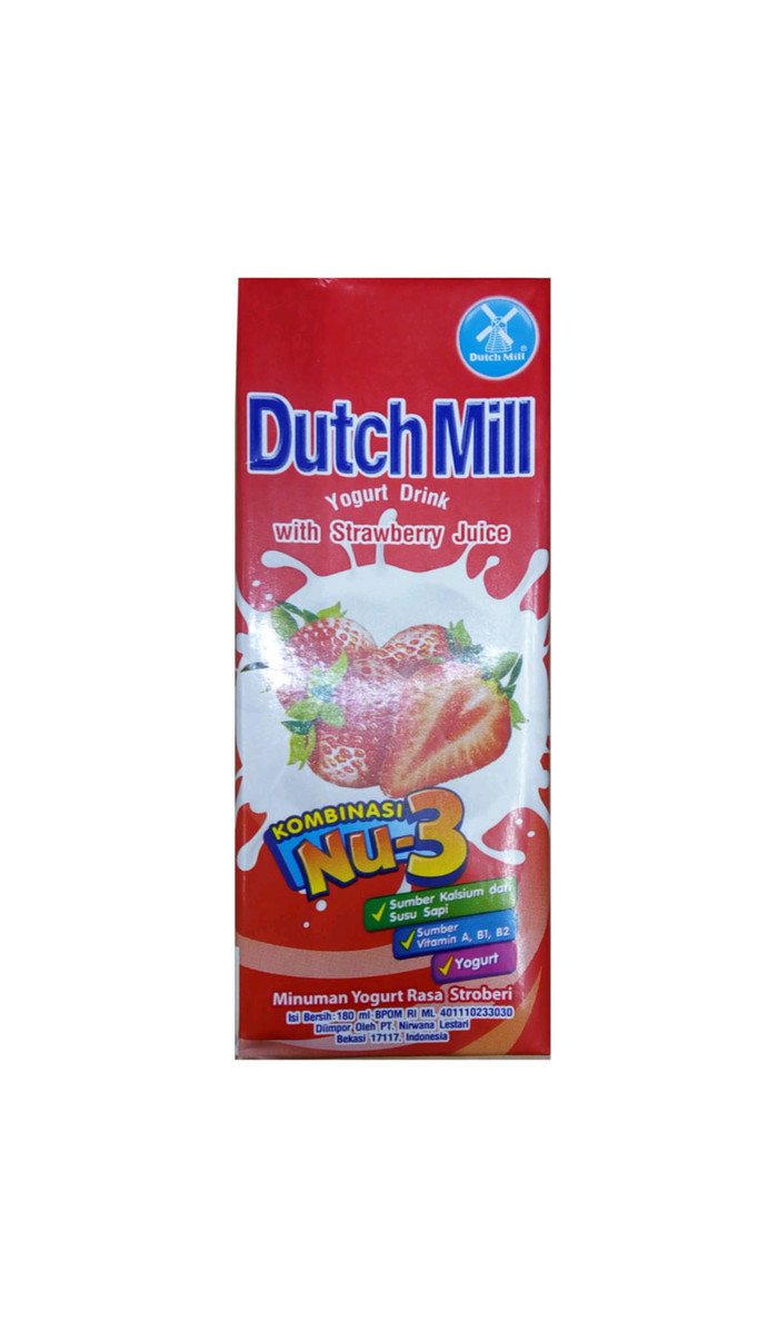Jual Dutch Mill UHT Yogurt Drink 180 Ml Kota Palembang Trini Ticket