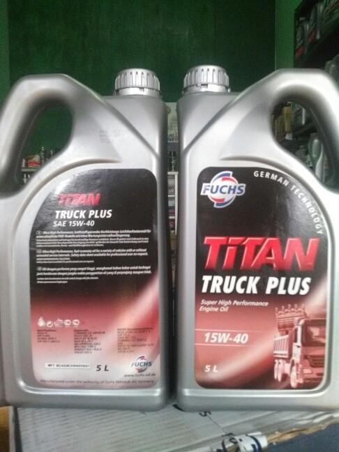 Jual Fuchs Titan Truck plus 15w40 super high performance longlife - DKI  Jakarta - Oli 7438   Tokopedia