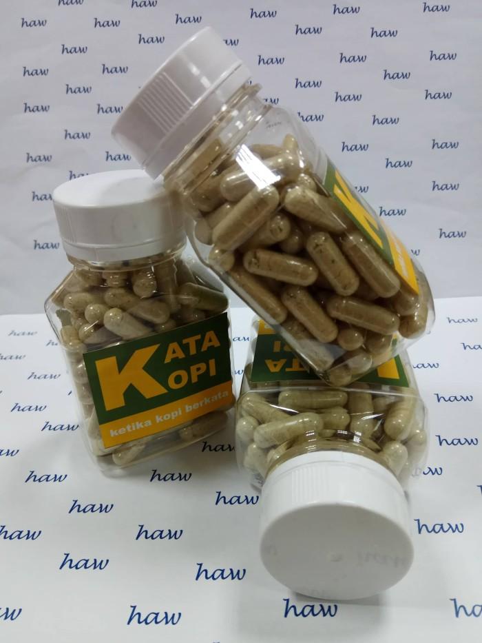 kapsul herbal diet pelangsing kopi hijau - green coffee ekstrak kapsul