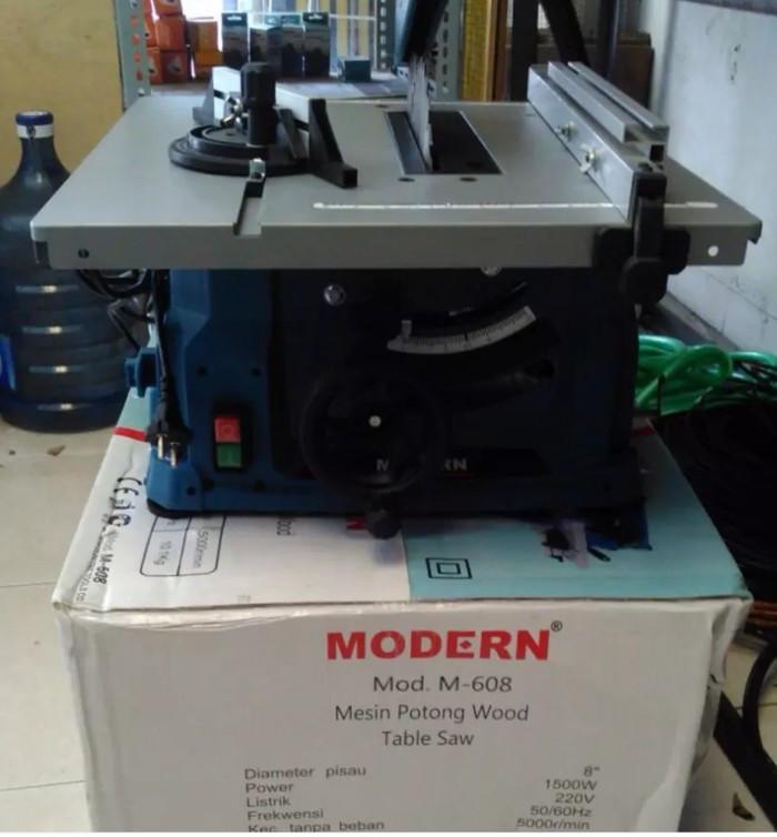 harga Mesin potong kayu meja table saw modern m-608 Tokopedia.com