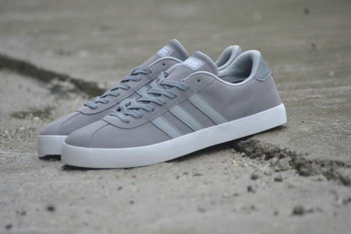 super popular 04869 2b667 ... promo code for sepatu adidas neo vl court grey original indonesia 7ede1  5cc62