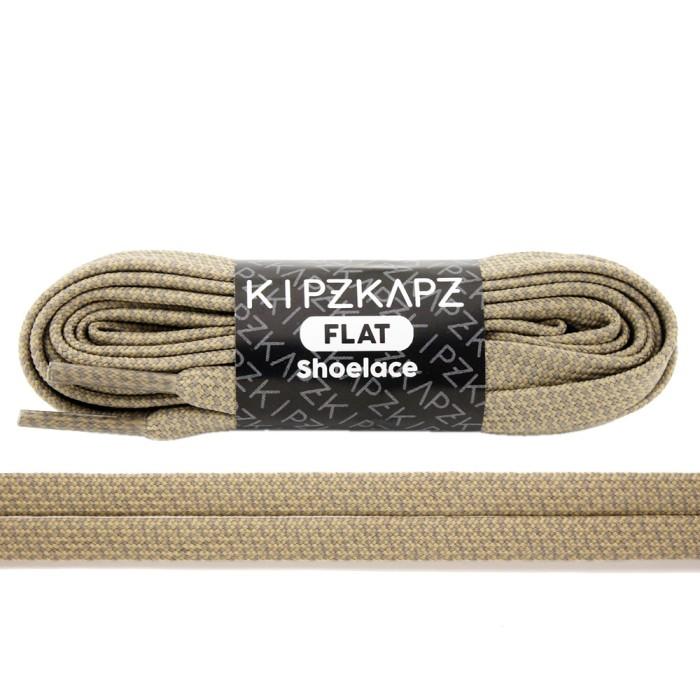 harga Kipzkapz fs68 beige braid 90cm 115cm 140cm - tali sepatu pipih / flat Tokopedia.com