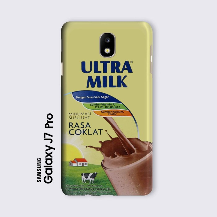 harga Samsung j7 pro casing hard case custom susu ultra milk coklat Tokopedia.com